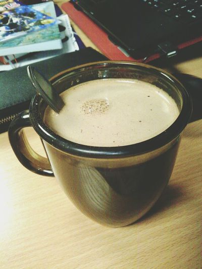 Любимое какао перед сном) Пусть хотя бы здесь будет зимнее настроение)