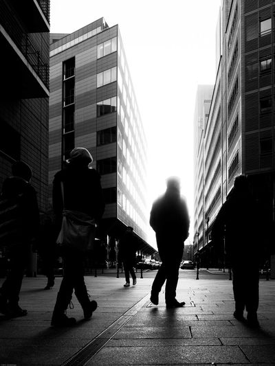 City Full Length Street Building Exterior Adults Only Built Structure Skyscraper People Architecture Outdoors Real People Only Men Adult Road Men Day One Person Sky Human Body Part Streetphotography Street Photography Streetphoto_bw