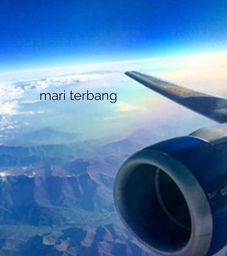 Mari Terbang Lets Fly i believe i can fly pora