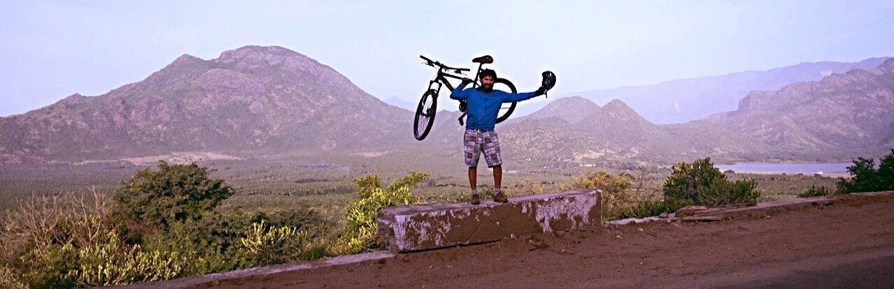 Hello World That's Me Cycling Uphill Mountain Biking Nature Love It Taking Advantage Of Vacation Taking Photos India