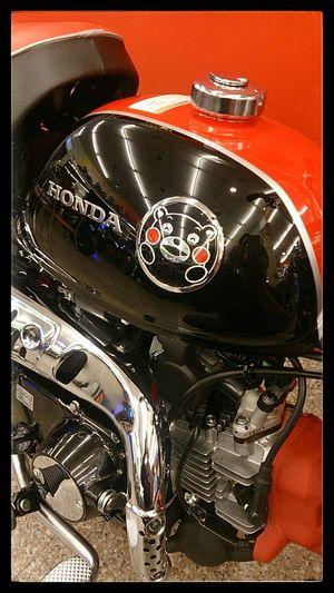 來自熊本的猴子 --- Honda MONKEY Z50 KUMAMON / くまモン( ´•̥̥̥ω•̥̥̥` )かわいー*