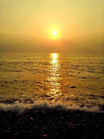 Seaview Sunset Landscape