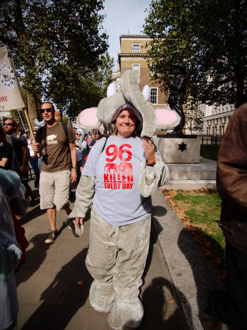 Global March Fro Elephants And Rhinos, London, U.K., 24/09/2016 Anti Poaching Ban Ivory Conservation Elephants Global March For Elephants And Rhinos Ivory Trade Olympus Protect Nature Protest Rhinos Steve Merrick Stevesevilempire Zuiko