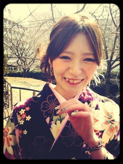 Kimono Japan Graduation 2012 That's Me