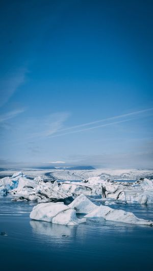 Ice lagoon EyeEm Selects Cold Temperature Ice Winter Frozen Scenics - Nature Snow Environment Water Landscape Sea Glacier Nature No People Beauty In Nature Blue Sky Non-urban Scene First Eyeem Photo The Great Outdoors - 2018 EyeEm Awards