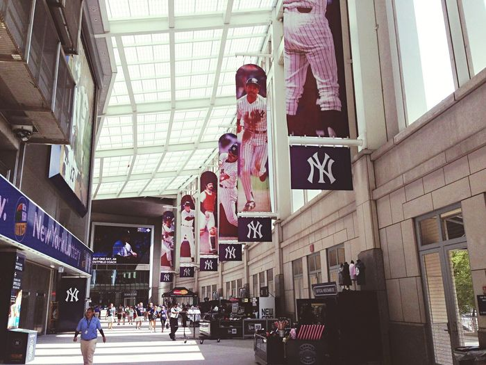 Yankee Stadium New York Mlb Majorleague Newyorkyankees