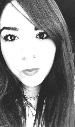 Black & White Self Portrait In Love Beauty