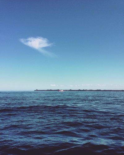 Clouds Nature Sky Scenics Water Beauty In Nature Ferry Ferryboat Ferry Views Ocean Sea Island Cloud Cloud_collection  Blue Nature Tranquility Horizon Over Water No People Outdoors Day