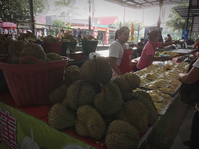 Durian Fruit Market Food And Drink Market Stall Freshness Food Retail  Vegetable Fruit Day Outdoors Healthy Eating People Large Group Of People Real People Buying Adults Only