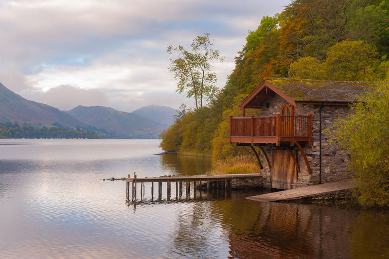 Lake District Ullswater Jetty