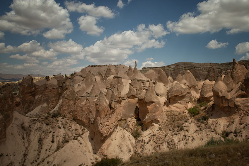 Cappadocia Cappadocia Cappadocia/Turkey Earth Rock Formation Turkey Beauty In Nature Climate Cloud - Sky Environment Eroded Formation Geological Formation Geological Landscape Geology Landscape Nature Physical Geography Remote Rock Rock - Object Scenics - Nature Sky Solid Tranquility Travel Destinations