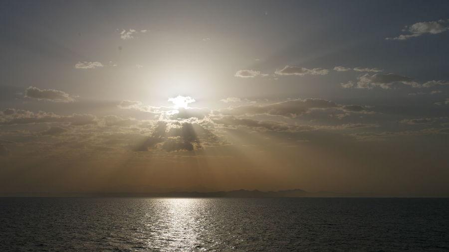 Sky Water Sun