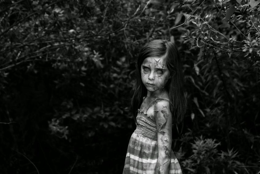 Because my little sister wanted to look scary Photoshop Edit Little Girl Littlesister Everyday Emotion Zombie Like4like Comment4comment Check This Out Louisianaphotography
