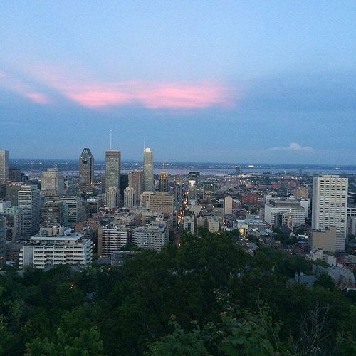 Montréal ❤ Memories Canada Truenorth Montréal toronto sunset bigcitylife travels aroundtheworld