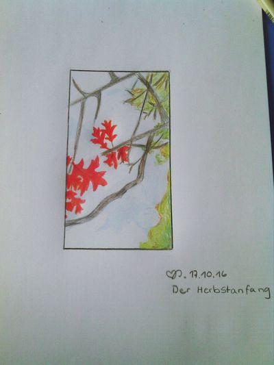 DER HERBST IST DA !! Love ♥ Schulhof :)