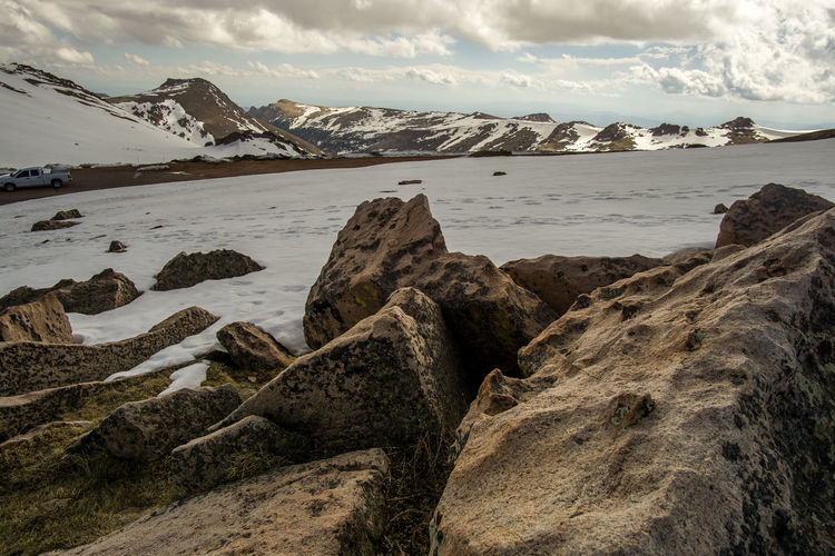 Colorado Landscape Landscape_photography Mountain Outdoors Pikes Peak Snow Travel