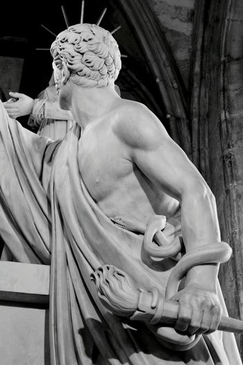 Funerary Monument for the Duc D'Enghiens - Melancholic Landscapes Sculpture Chapel Sculpting A Perfect Body Marble Bwphotography EyeEm Best Shots - Black + White