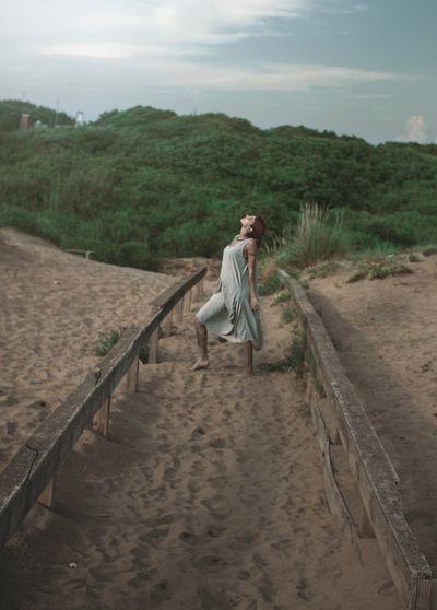 Portrait EyeEm Best Shots EyeEm Nature Lover Eyeemphotography Sea Nature_collection Light Redhead Vintage Sand