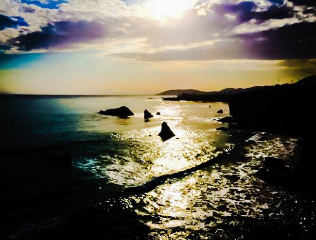 San Simion Central Coast Sunset