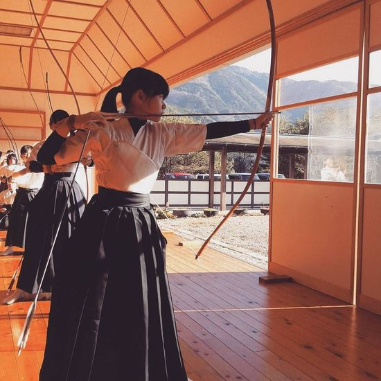 Silence in Discipline. Young Adult People EyeEmNewHere Archery Girl Discipline