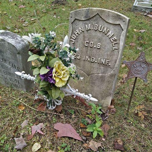 Found some Civil War graves near my house. Civilwar Americanhistory History Northernmichigan Tcmi