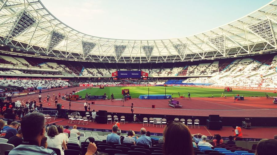 London Olympic Stadium First Eyeem Photo London Sports Olympics 2012 Athletics