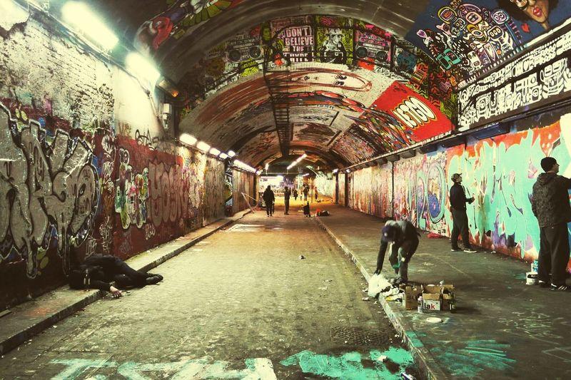 Leakestreet London Leake St Graffiti Showcase: January
