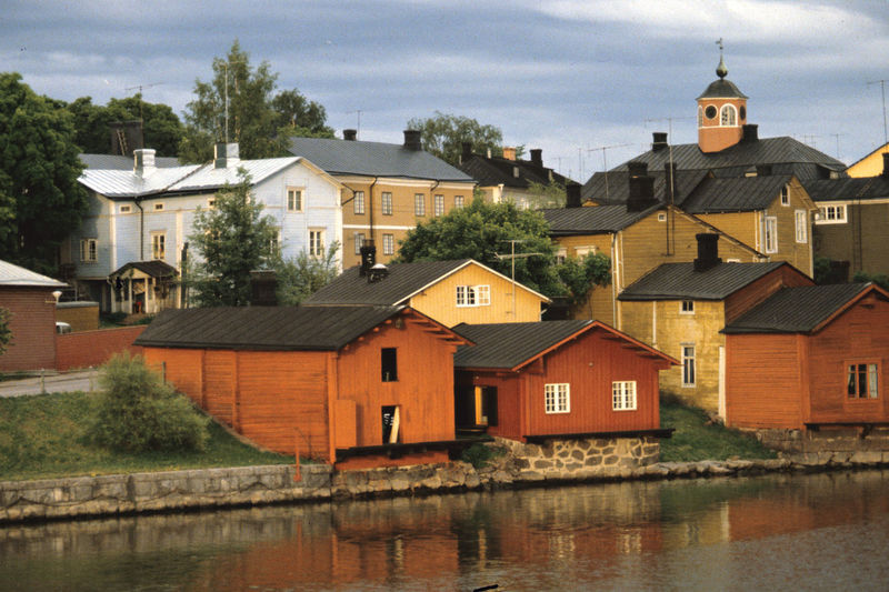 A Small Town By The Sea A Small Town Of Wooden Houses Architecture Building Exterior Built Structure Harmony Of Colours Harmony Of Houses Housing Idyll No People Porvoo, Finland
