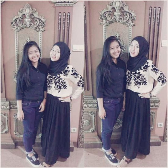 my friend and me ;;) Beuty