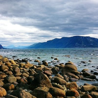 I sea. Nature Landscape View Eye4photography  EyeEm Best Shots Open Edit Seaside Sea And Sky Seascape Clouds And Sky Norway