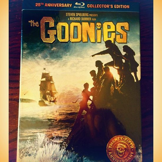 Look what we found today ..Goonies Pirate Heyyouguys Bestmovieever movieneversaydielovetreasurechunk