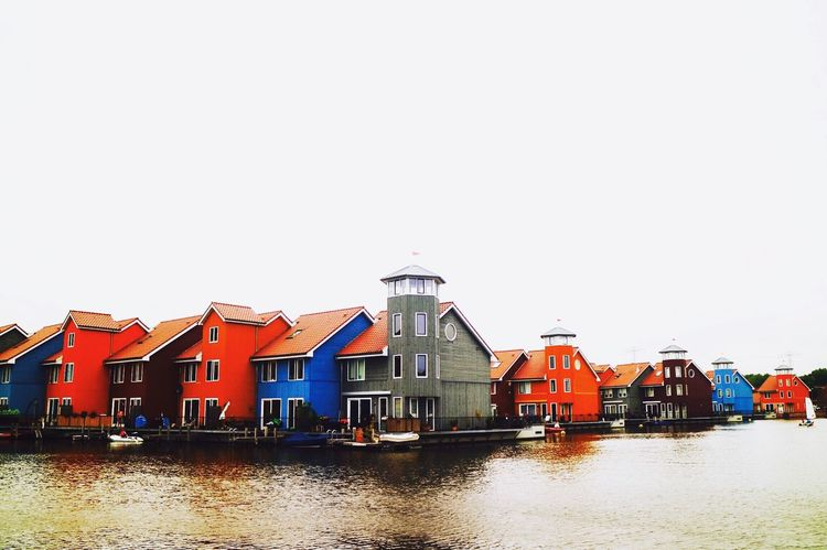 Beautiful Photography Gorgeous Holland Thenetherlands Capture The Moment Colors Colorful Houses Water