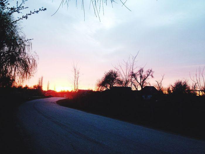 Встречаем закат
