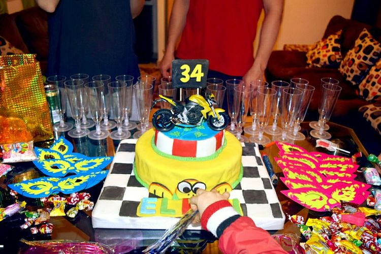 Happy birthday, biker, colors, Pastel, Fiesta,