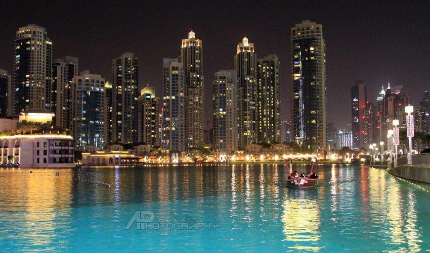 Enjoying The View UAE , Dubai Mydubai Dubai UAE Taking Photos Dubai Mall Dubai Fountain Cityscapes