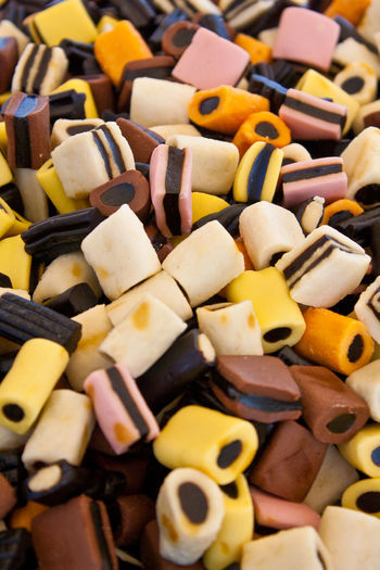 Abundance Arrangement Candy Choice Close-up Food Large Group Of Objects Liquorice LiquoriceAllSorts Ready-to-eat Sweets Variation