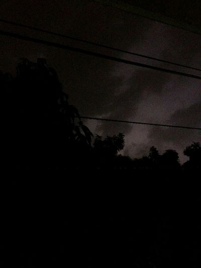 Lighting The Night Sky With A Lightning Rain Midnight Shots