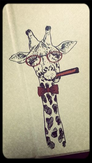Animals Case Cigarettes Giraffe Cool