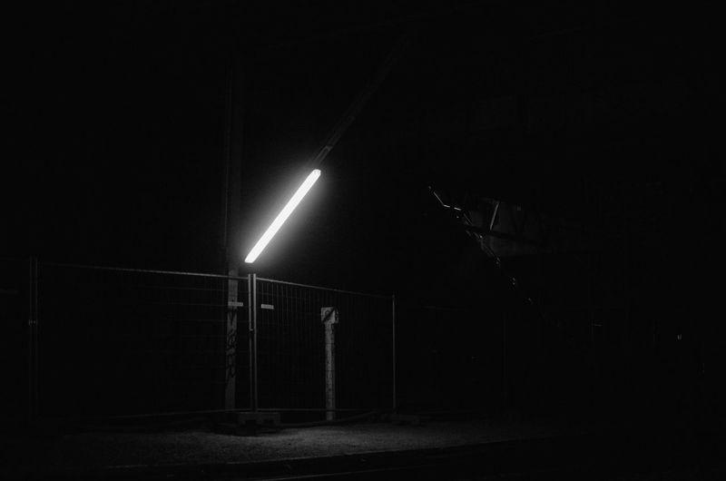 Black & White Dark Light Night Photography Station