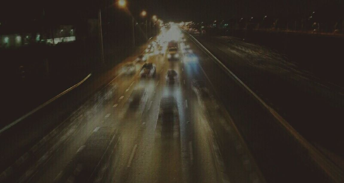 Blurred Standing On A Bridge Looking Out Tadaa Community Highways&Freeways Lights Streetphotography Long Exposure Streets Lighttrails
