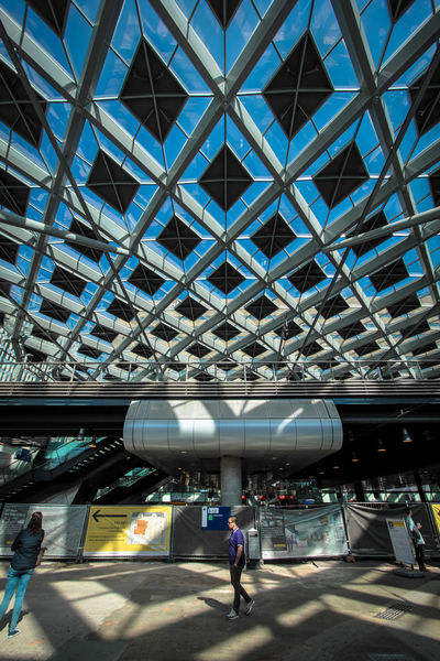 Adult Architecture Built Structure Ceiling Day Den Hague Full Length Futuristic Indoors  Large Group Of People Lifestyles Men Modern People Real People Standing Train Station Travel Walking Women