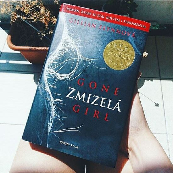 My present from my classmates 😄📘 When I finished this book it literally blew me over 😱 I have never thought I will love and hate this book at the same moment 😵 Gonegirl Book Thrilling Mindblown  summer czechgirl booknerd P.S. I was Amy's fan for her genius mind, but I didn't wish her happy ending