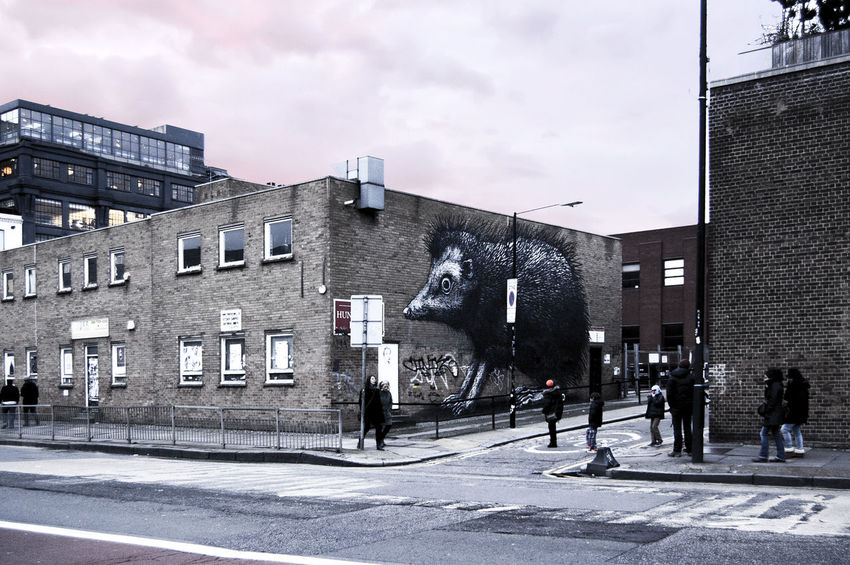 London Graff Art Mouse Mask