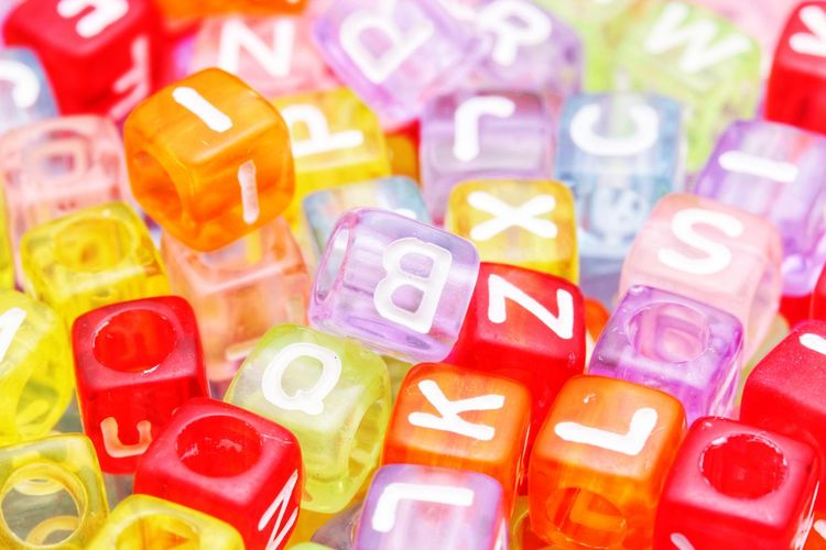 Beads Beads Alphabet Learning Macro Many Colors Multi Colored Backgrounds Stack Variation Toy Block Close-up Large Group Of Objects Display Focus