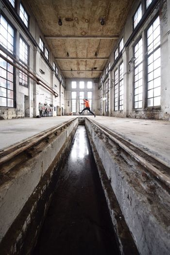 Jump Abandoned Decay Architecture Hall Architecture_collection Channel Wide Angle The Architect - 2018 EyeEm Awards
