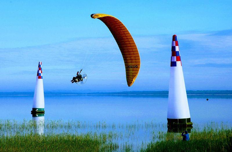 #paramotor #paramoto #slalom #slalomaniya Water Flying Sky
