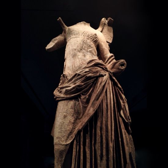 the o t h e r nike EyeEm Best Shots Museum Victory Samothrace Marble Hellenistic  Statue Heritage Chiaroscuro