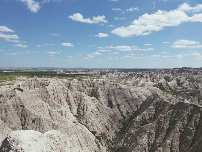Rock formations at landscape