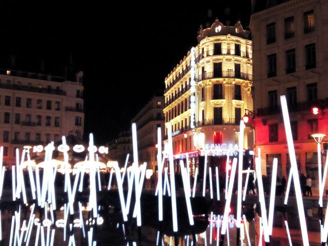 Fete Des Lumieres Fdl2014 Lyon France City Lights