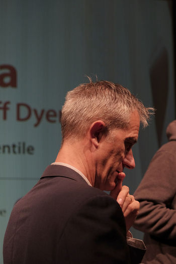 Geoff Dyer in Milan, november 2017 Bookcitymilano Bookcity Book Festival Milano Author Geoff Dyer Writer Close-up Communication English Writer Famous People Focus On Foreground Headshot Indoors  Lifestyles Meditative Real People Standing